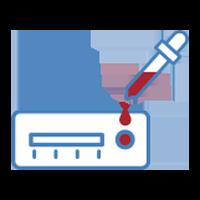 Test IgG / IgM en sangre